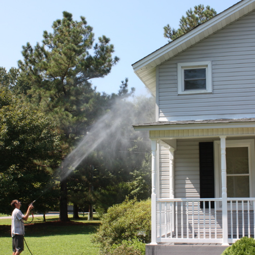 House Power Washing by Capital City Powerwashing in Richmond, VA